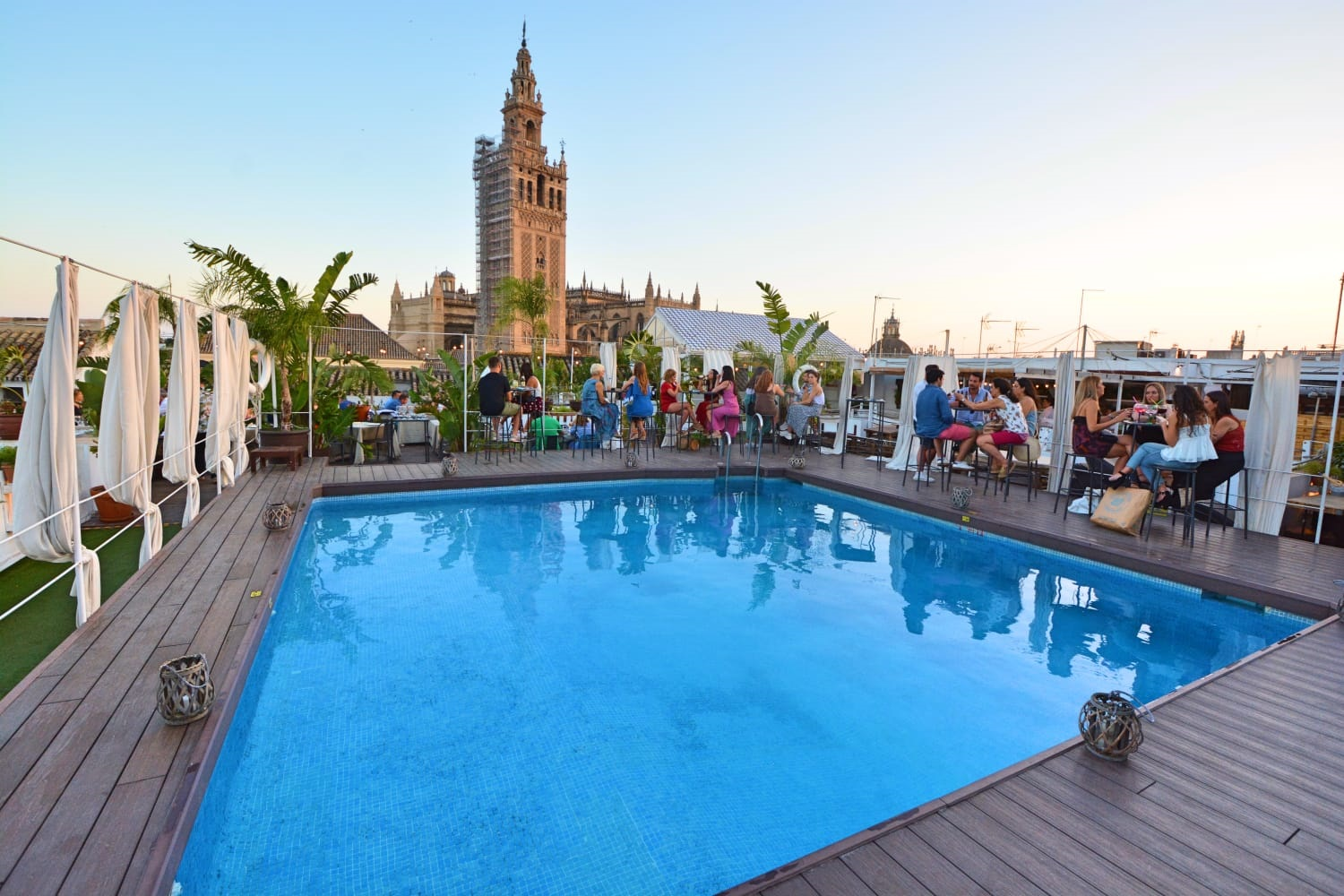 Hotel With Roof Terrace In Seville Panoramic Terrace